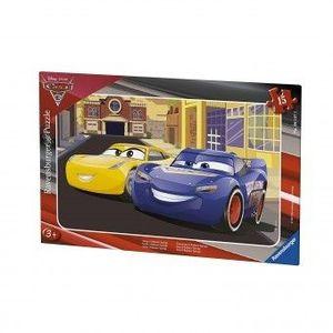 Puzzle Copii 3Ani+ cars 3, 15 piese imagine