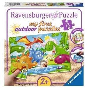 Puzzle 2Ani+ dinozauri, 12 piese imagine