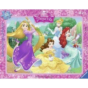 PUZZLE Copii 4Ani+ PRINTESELE DISNEY, 35 PIESE imagine