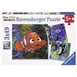PUZZLE Copii 5Ani+ In Cautarea lui Nemo, 3x49 PIESE imagine