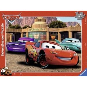 PUZZLE Copii 4Ani+ CARS, 37 PIESE imagine