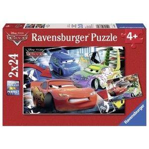 PUZZLE 4Ani+ CARS, 2x24 PIESE imagine