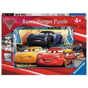 PUZZLE Fun 4Ani+ CARS, 2x24 PIESE imagine