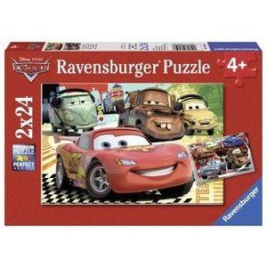 PUZZLE Copilasi 4Ani+ CARS, 2x24 PIESE imagine