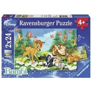 PUZZLE Copii 4Ani+ BAMBI, 2x24 PIESE imagine