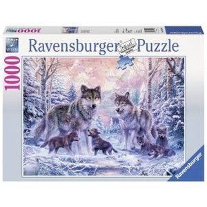 Puzzle Fun 14Ani+ Lupi polari, 1000 piese imagine