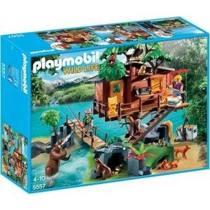 PlayMobil 4Ani+ Casa din copac imagine