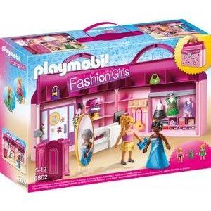 PlayMobil 5Ani+ SET MOBIL BUTIC CU HAINE imagine