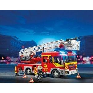 Masina de pompieri cu scara lumini si sunete imagine