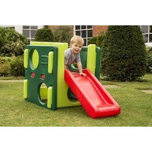 Spatiu De Joaca pentru copii 18 luni + Cub cu tobogan Verde Little Tikes imagine
