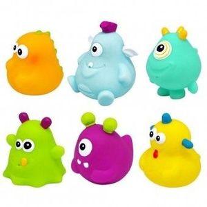 Set 6 jucarii de baie pentru bebelusi ESCABBO imagine