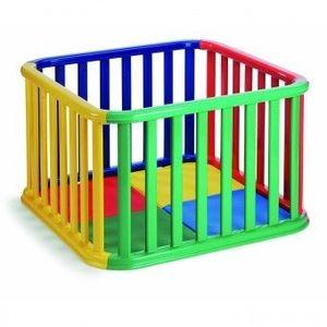 Tarc de joaca copii 6-24 Luni cu saltea Recinto Plebani imagine
