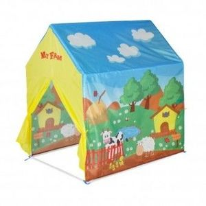 Cort de joaca pentru copii My Farm Multicolor imagine