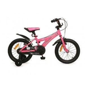 Bicicleta 16 Inch Copii 6-9 Ani Moni Byox DEVIL Roz imagine