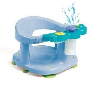 Scaun baie bebe cu stropitoare si jucarii Olmitos Blue imagine