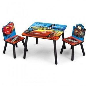 Set masuta si 2 scaunele Disney Lightning McQueen imagine