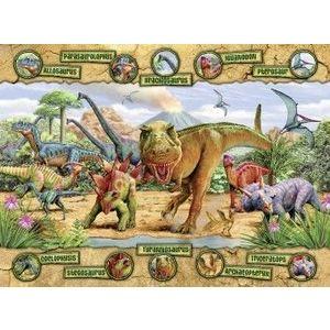 Puzzle Copii 6Ani+ dinozauri, 100 piese imagine