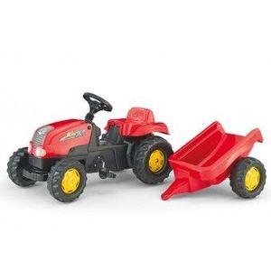 Tractor Cu Pedale Si Remorca 2-6ani ROLLY TOYS imagine