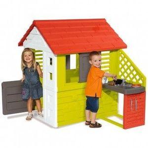 Casuta cu bucatarie pentru copii Smoby Nature imagine