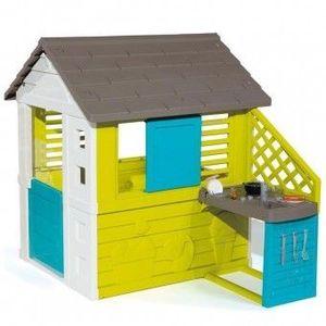 Casuta pentru copii cu bucatarie Smoby Pretty imagine