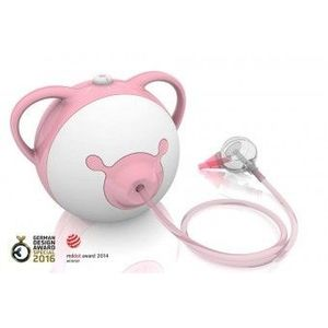Aspirator nazal electric Nosiboo Pink imagine
