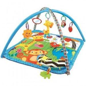 Centru de joaca cu pernita Zoo - Sun Baby imagine