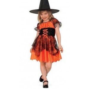 Costum Copii pentru serbare Vrajitoarea Infricosatoare 116 cm imagine