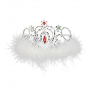 Costum Copii pentru serbare Regina Zapezii 104 cm imagine