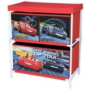 Organizator pentru jucarii Copii Fun cu structura metalica Cars 3 imagine