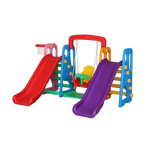 Centru de joaca Happy Slide Multicolor Million Baby imagine