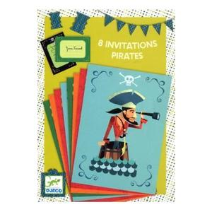 8 Invitations. Invitatii, Pirati imagine