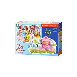 Puzzle 2 in 1 - The Princess Ball imagine