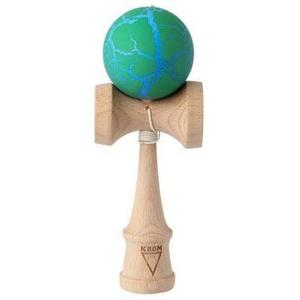 Kendama Krom Crack (verde+albastru) imagine