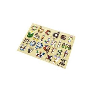 English alphabet art puzzle. Puzzle, Alfabet imagine