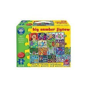 Big Number Jigsaw. Puzzle de podea, Invata numerele imagine