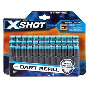 Rezerva proiectile 36 de bucati - X-Shot imagine