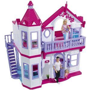 Casuta pentru papusi Simba Steffi Love My Dreamhouse cu accesorii imagine