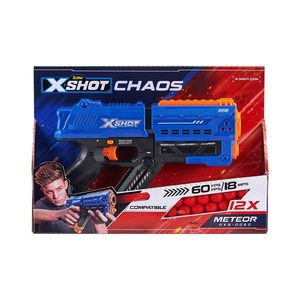 Pistol X-Shot Chaos Meteor cu 12 gloante din spuma imagine
