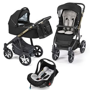 Baby Design Lupo Comfort Limited carucior multifunctional 3 in 1 - 12 Black 2019 imagine