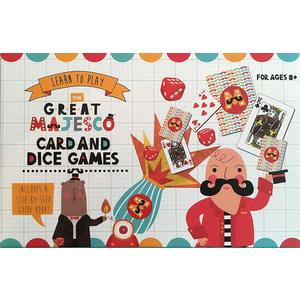 Robert Frederick Learn To Play Set with Book - Playing Cards & Dice Great Majesco, Assorted | Robert Frederick imagine