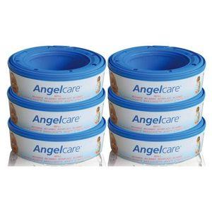 Angelcare Rezerva Pentru Cos Ermetic Scutece Murdare - Set 6 Buc imagine