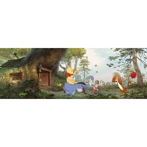 Fototapet Cu Winnie ''acasa La Pooh'' imagine