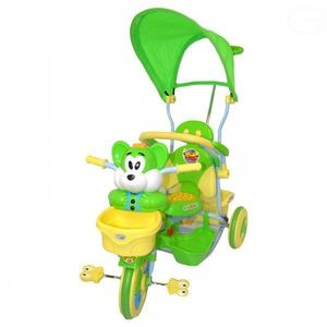 Tricicleta Eurobaby 2830ac - Verde imagine
