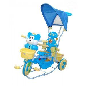 Tricicleta Eurobaby 2830ac - Albstru imagine