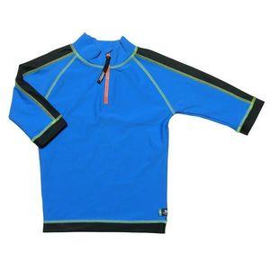 Tricou De Baie Blue Black Marimea 122- 128 Protectie Uv Swimpy imagine