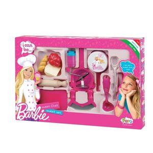 Set Complet Ustensile Bucatarie Barbie 2714 Faro imagine