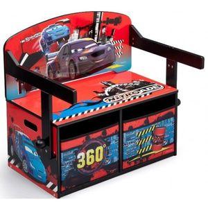 Mobilier 2 in 1 pentru depozitare jucarii Disney Lightning McQueen imagine
