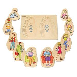 Puzzle Stratificat Bunica Si Bunicul Beleduc imagine