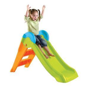 Topogan Pentru Copii K Cu Scara, Orange-verde imagine