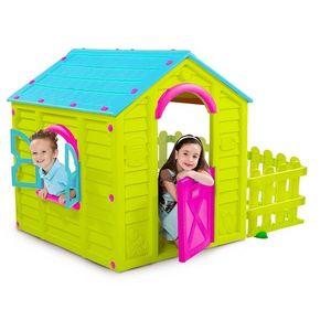 Casuta Joaca Copii Garden House Vernil imagine